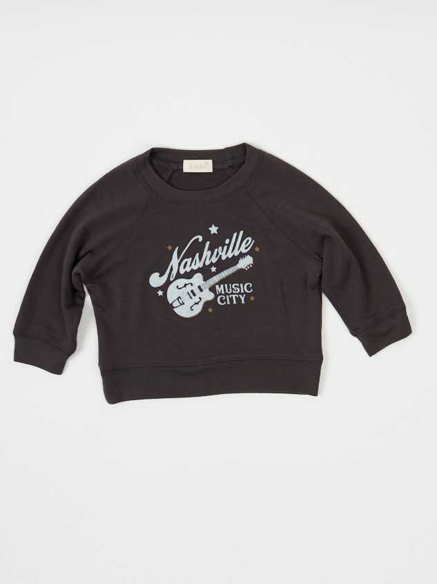 Tullabee Nashville Music City Sweatshirt - Altar'd State