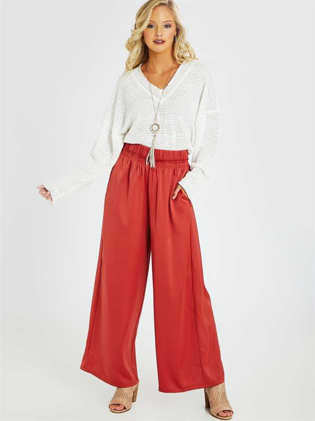 Penny Palazzo Pants - Altar'd State