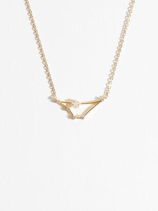 Zodiac Charm Necklace - Capricorn - Altar'd State