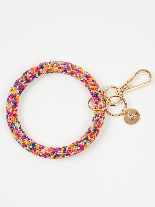 Beaded Ring Keychain - Altar'd State