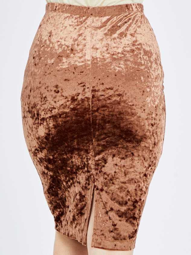 Nadine Midi Skirt Detail 4 - Altar'd State