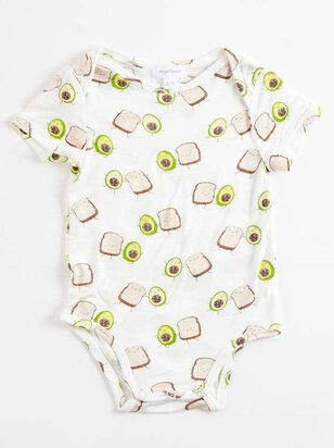 Tullabee Avocado Toast Short Sleeve Onesie - Altar'd State