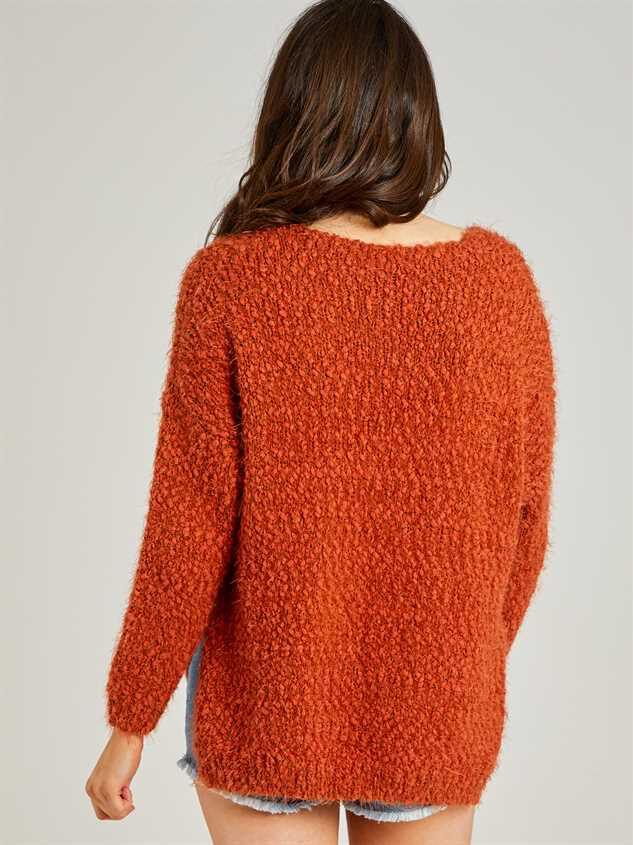 Eyelash Sweater Detail 3 - Altar'd State
