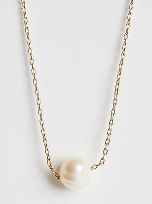 Pearl Drop Necklace - Altar'd State