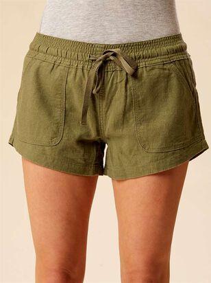 Essential Linen Shorts - Altar'd State