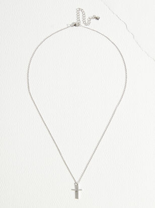 The Demi Fine - Isabella Cross Necklace - Altar'd State