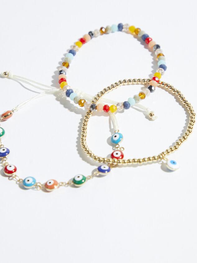 Iris Beaded Bracelet Set Detail 3 - Altar'd State
