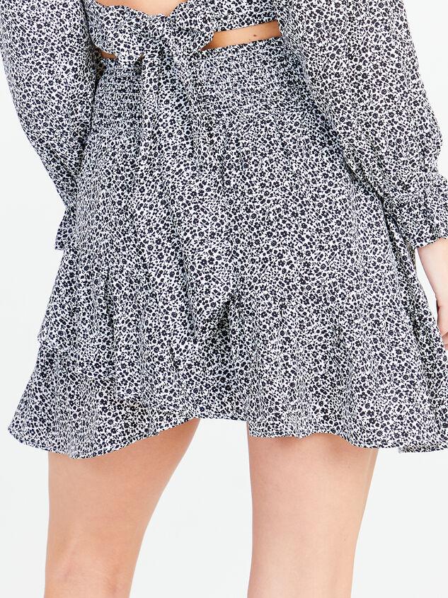 Dainty Floral Skirt Detail 2 - Altar'd State