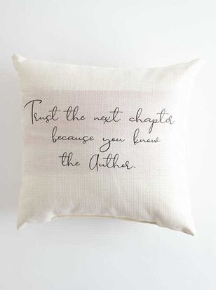 Trust the Next Chapter Pillow - Altar'd State