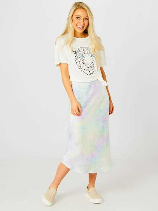 Laurel Tie Dye Midi Skirt - Altar'd State