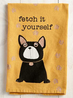 Fetch It Yourself Dish Towel - Altar'd State