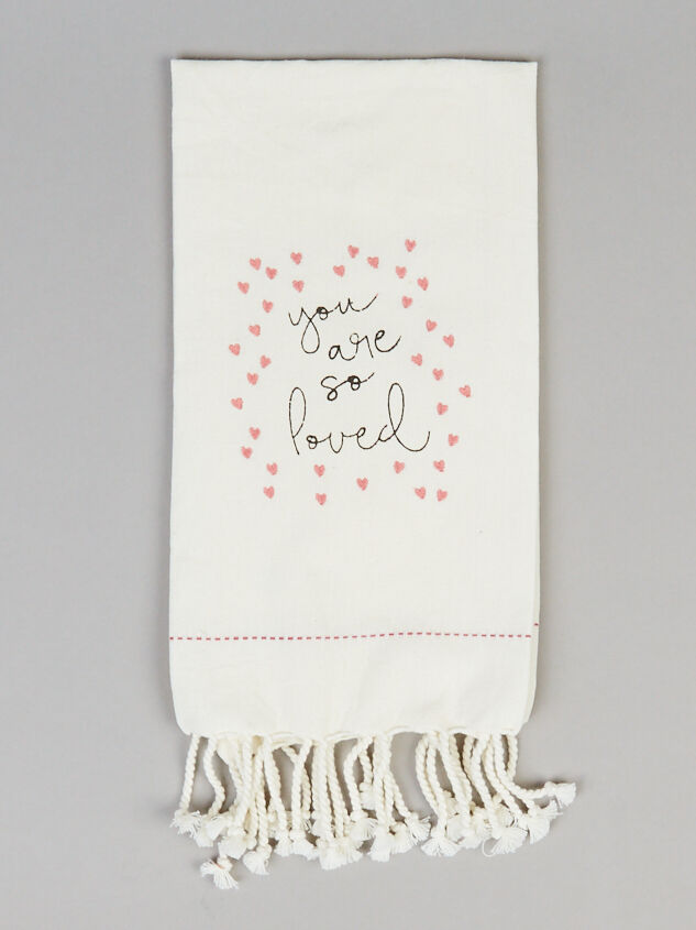 You Are So Loved Hand Towel - Altar'd State