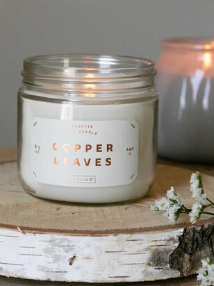 Copper Leaves Candle - Altar'd State