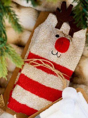 Rudolph Critter Socks - Altar'd State