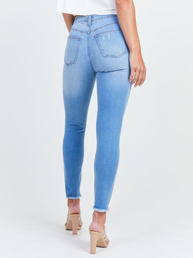 Relinquish Skinny Jeans Detail 4 - Altar'd State
