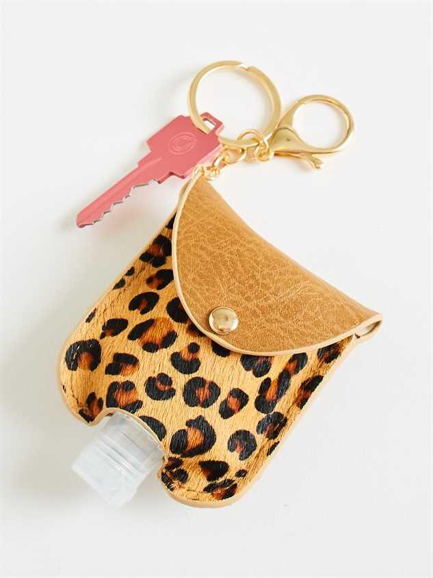 Hand Sanitizer Case - Brown Leopard - Altar'd State