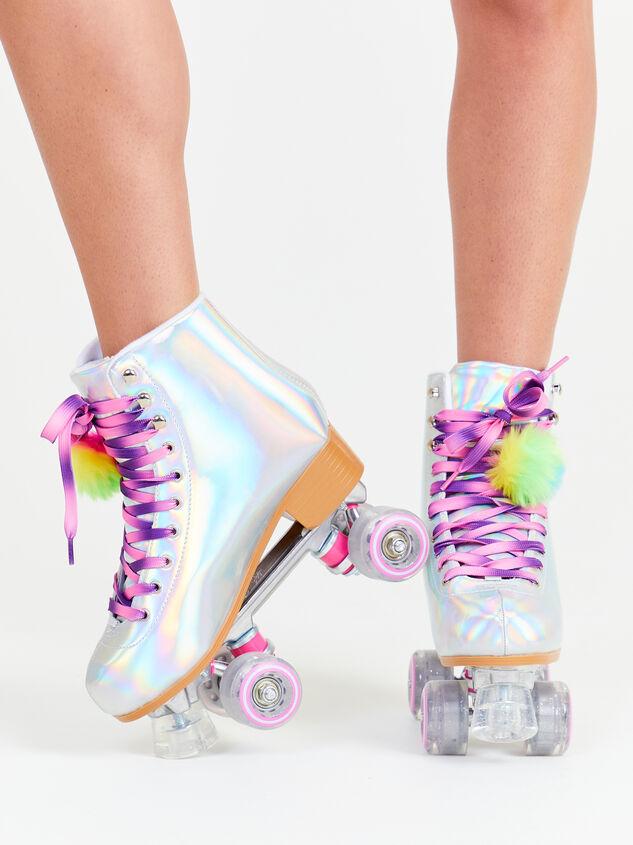 Kaleidoscope Retro Skates Detail 6 - Altar'd State