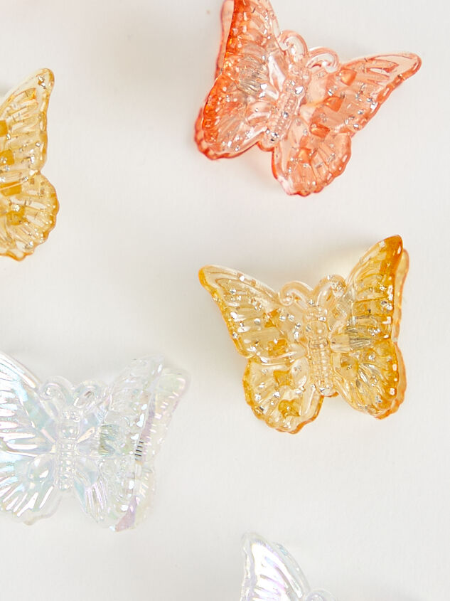 Butterfly Hair Clips - Nude Multi Detail 2 - Altar'd State