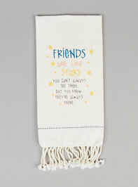 Friends are Like Stars Hand Towel - Altar'd State