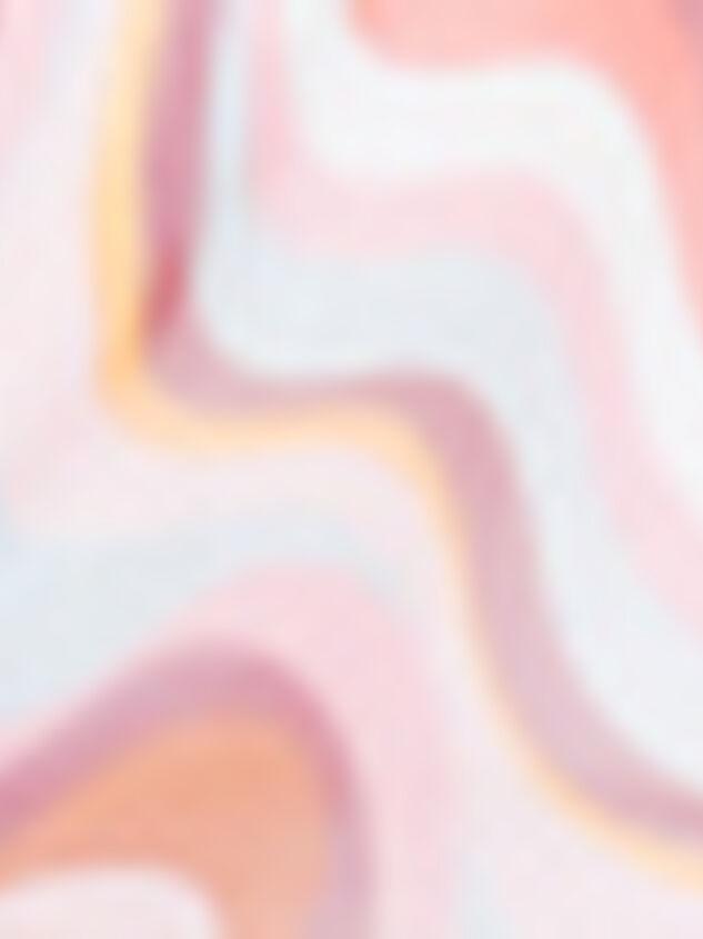 Retro Rainbow Mesh Top Detail 3 - Altar'd State