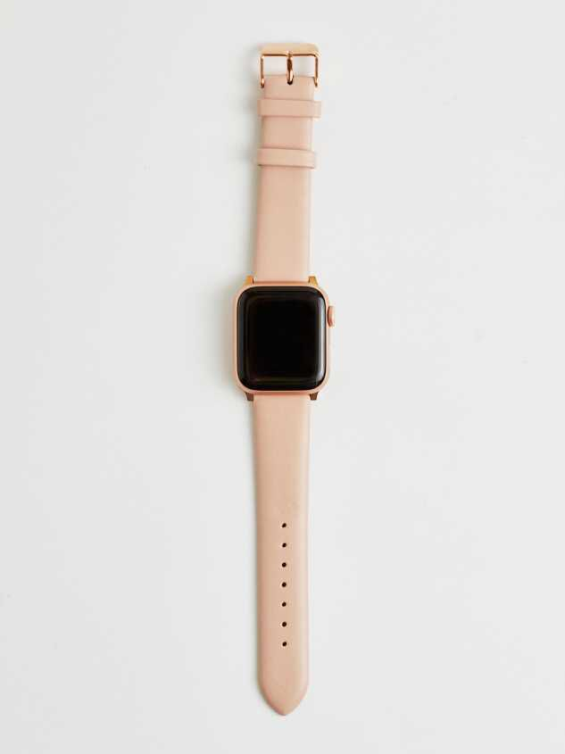 Leather Smart Watch Band - Blush - Altar'd State