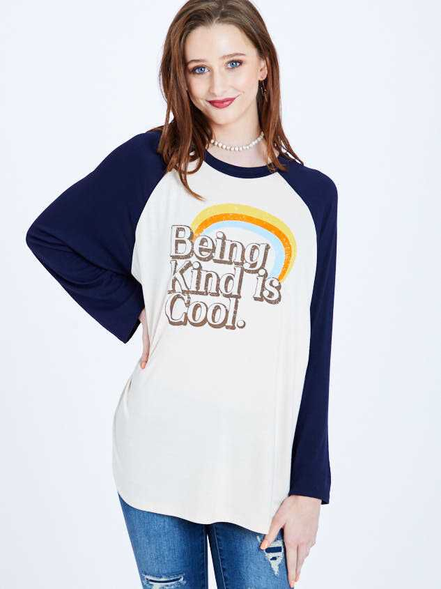 Being Kind is Cool Top - Altar'd State