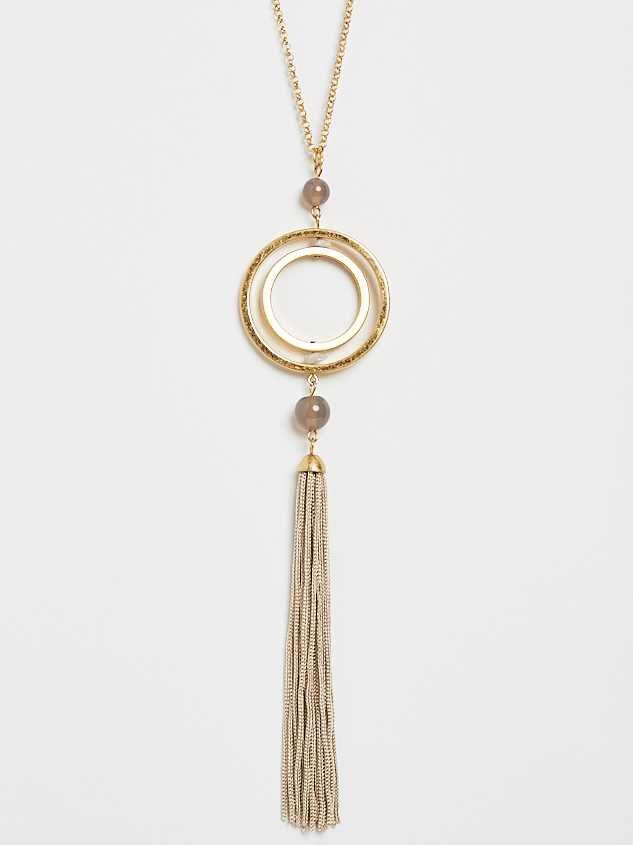Orbital Pendant Necklace - Altar'd State