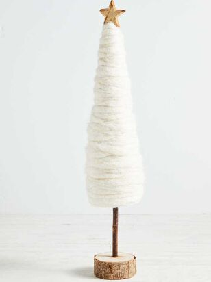 Large Christmas Tree - Cream - Altar'd State