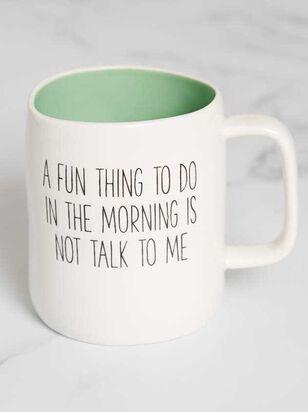 Not Talk to Me Mug - Altar'd State
