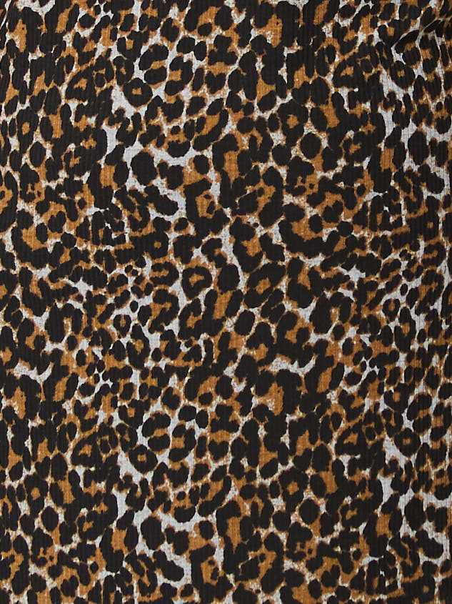 Leopard Tie Dress Detail 5 - Altar'd State