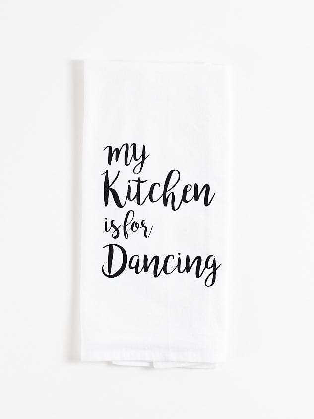 Kitchen Dancing Hand Towel - Altar'd State
