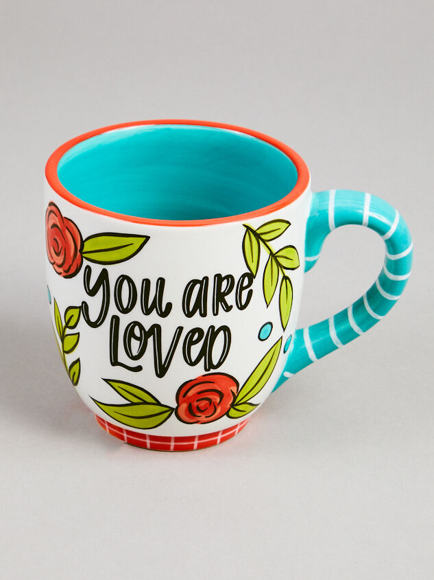 Mom You are Loved Mug Detail 2 - Altar'd State