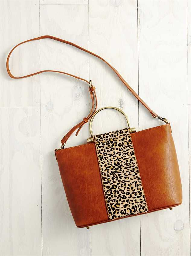 Lula Leopard Handbag Detail 3 - Altar'd State