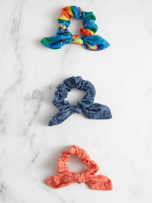 Tie Dye Scrunchy Set - Altar'd State