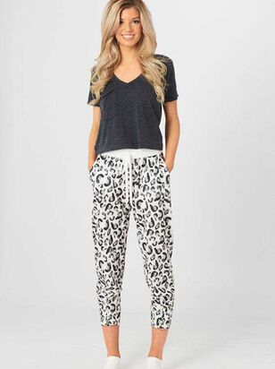 Snow Leopard Lounge Pants - Altar'd State