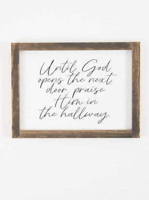 In The Hallway Wall Art - Altar'd State