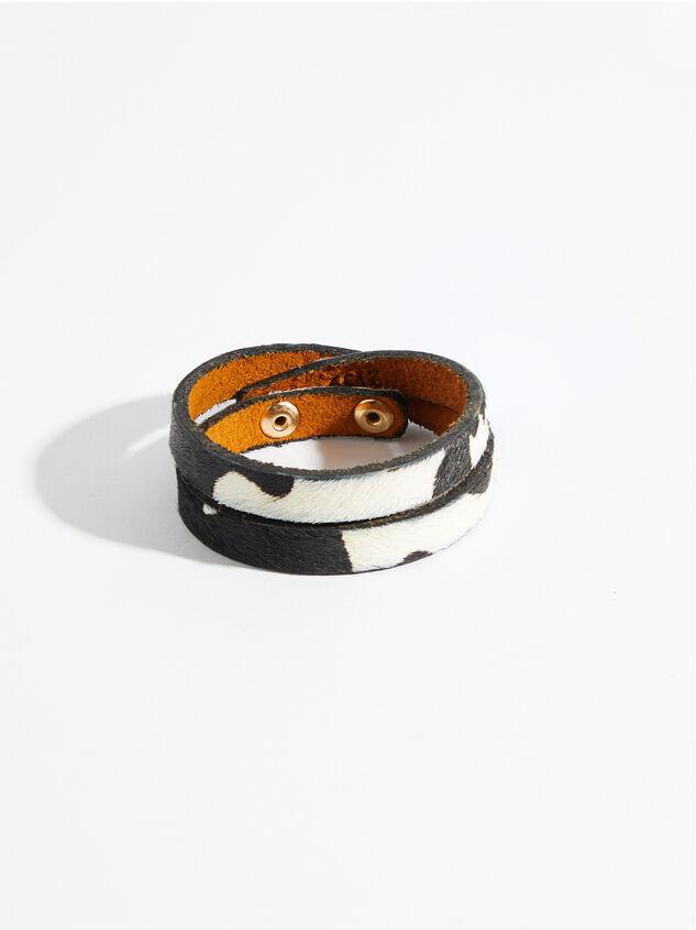Double Wrap Cow Bracelet - Altar'd State