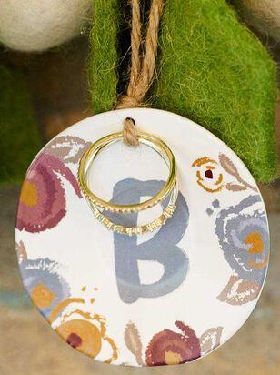 Monogram Ring and Dish Set - B - Altar'd State