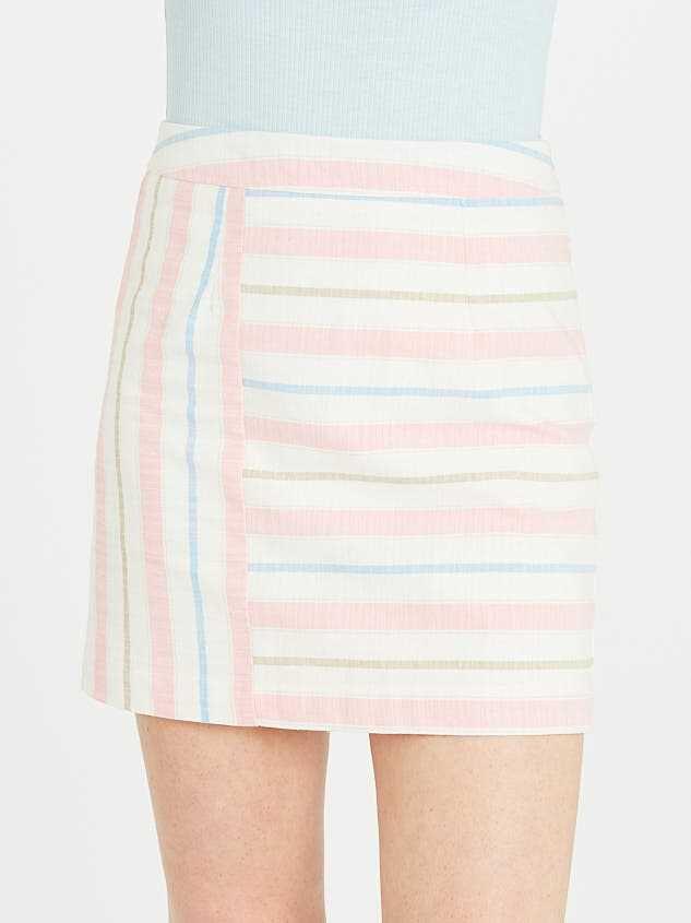 Fun in the Sun Linen Skirt Detail 2 - Altar'd State