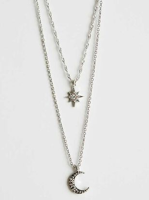 Celestial Charm Necklace - Silver - Altar'd State