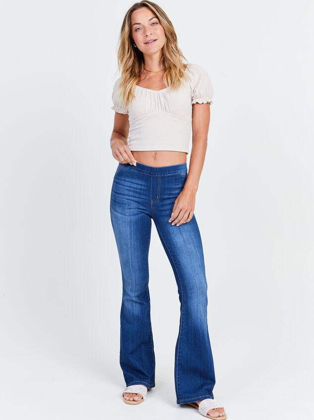 Luttrell Flare Jeans Detail 1 - Altar'd State