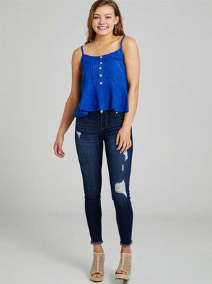 Feather Skinny Jeans - Altar'd State