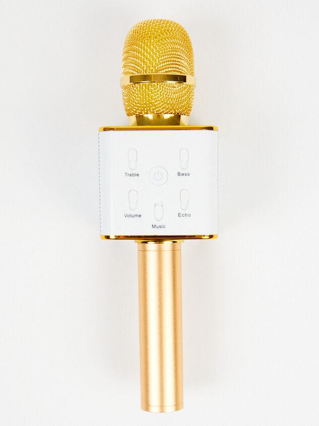 Handheld Karaoke Microphone - Gold - Altar'd State