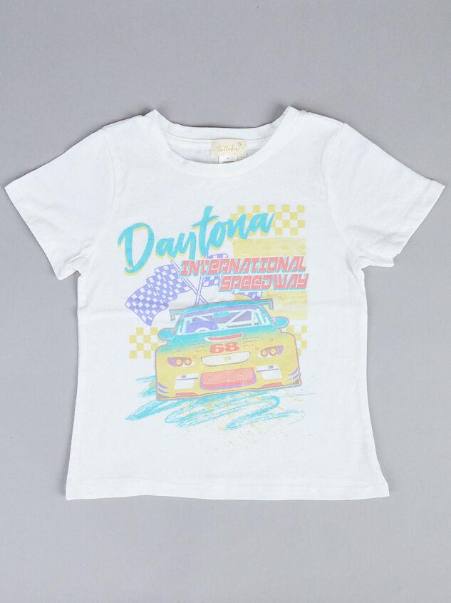 Tullabee Daytona Racecar Tee Detail 2 - Altar'd State