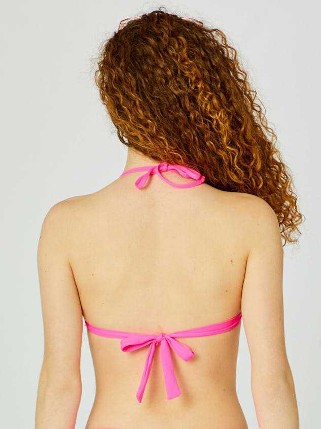 Pink Punch Bikini Swim Top Detail 4 - Altar'd State