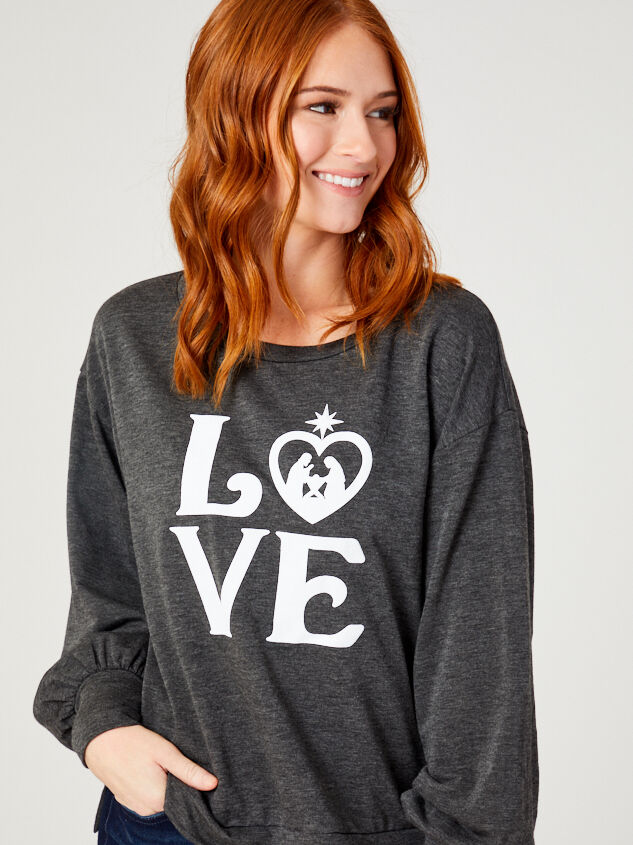 Nativity Pullover Top - Altar'd State