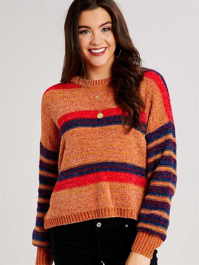 Eversoft Chenille Spiced Sweater - Altar'd State