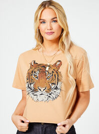 Calm Tiger Cropped Tee - Altar'd State