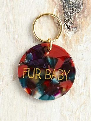 Bear and Ollie's Fur Baby Dog Tag - Altar'd State
