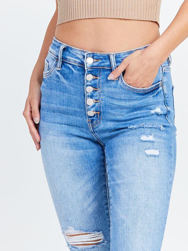 Delilah Skinny Jeans Detail 5 - Altar'd State